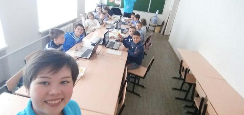 Занятия по робототехнике в Лиге Роботов на базе лицея №15 в Ставрополе